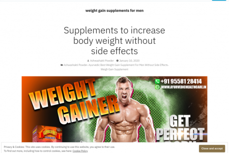 Increase Body Weight Without Side Effects Infographic