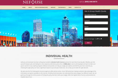 Individual Health Insurance Indianapolis Infographic