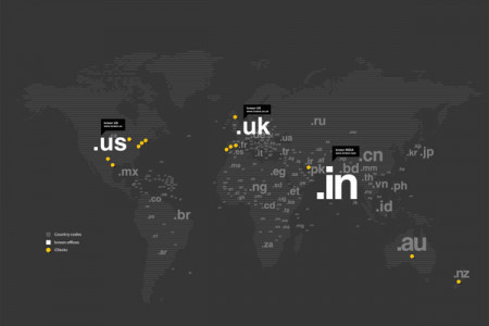 Infographic design for a Business Locations across world Infographic