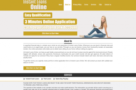 Instant Loans Online Upto 1000 | Cash Advances Infographic
