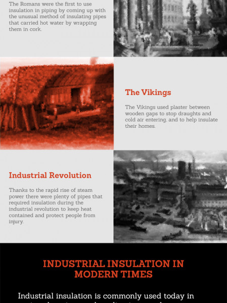 Insulation: A Brief History Infographic