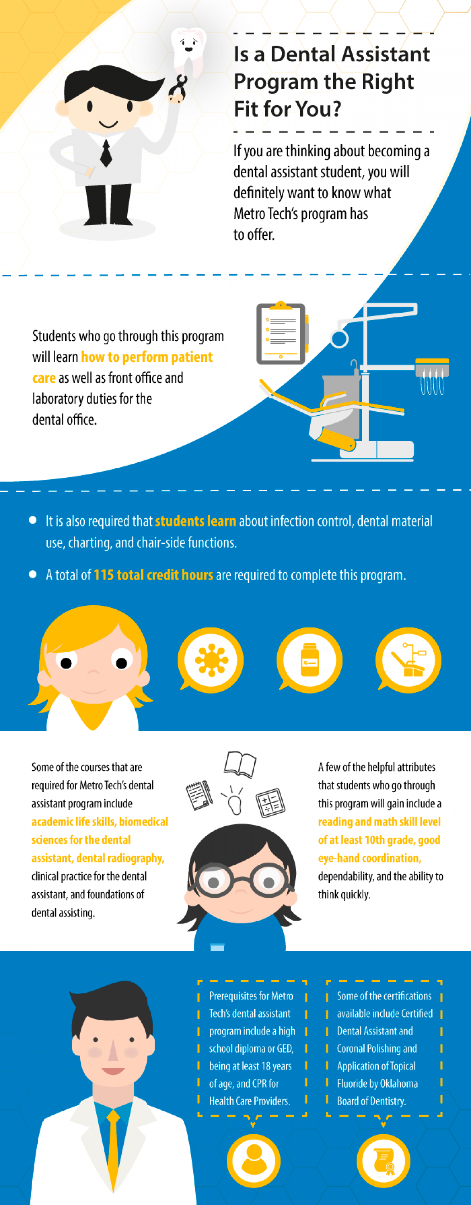 Is an Oklahoma Dental Assistant Program the Right Fit for You? Infographic