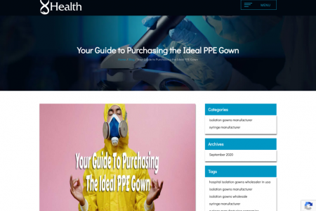 Isolation Gowns Wholesale Purchasing Guide   8 Health Infographic
