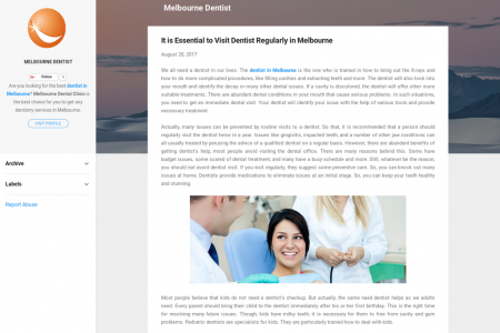 It is Essential to Visit Dentist Regularly in Melbourne Infographic