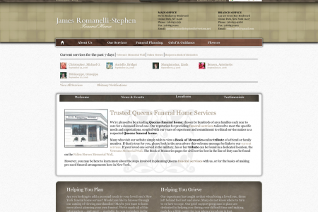 James Romanelli-Stephen Funeral Home Infographic