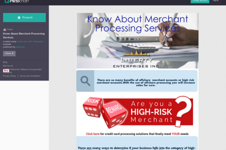 Know About Merchant Processing Services Infographic