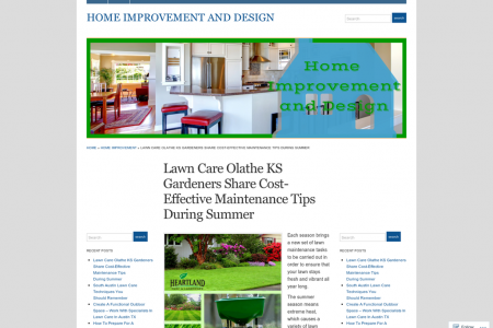 Lawn Care Olathe KS Gardeners Share Cost-Effective Maintenance Tips During Summer Infographic