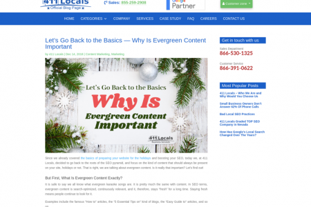 Let's Go Back to the Basics — Why Is Evergreen Content Important Infographic