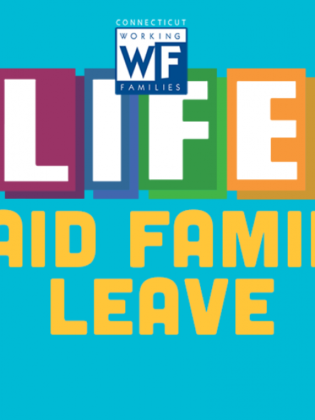 Life with Paid Family Leave Infographic