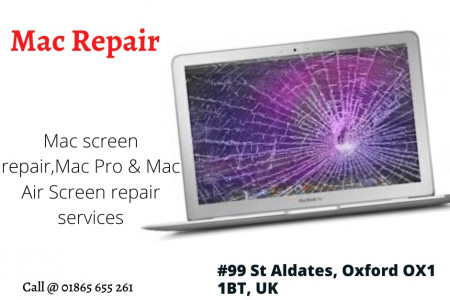 Mac repair services Infographic