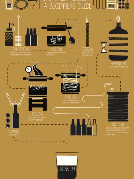 Make Beer Infographic