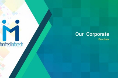 Manfred Infotech Corporate Brochure Infographic