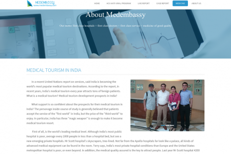Medical Tourism in India Infographic