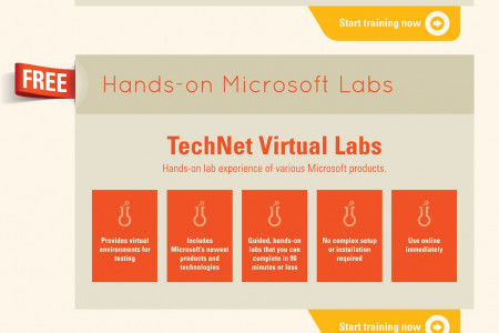 Microsoft IT Resources Infographic