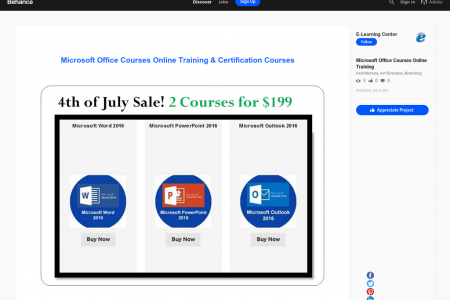 Microsoft Office Courses Online Training & Certification Courses  Infographic