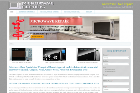 Microwave Oven Repairs Delhi NCR | Call 9540408143 Infographic