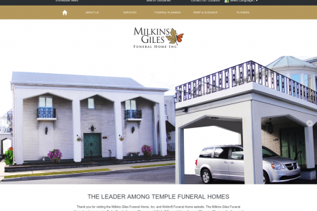 Milkins Giles Funeral Home, Inc Infographic