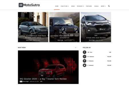 Motosutra - Latest Cars And Motorcycles Reviews  Infographic