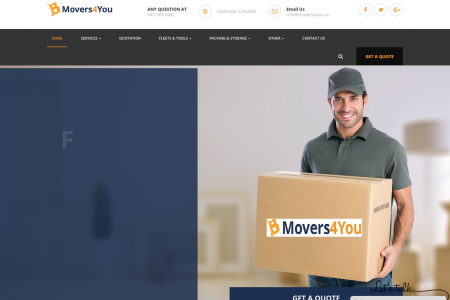 Movers in Toronto | Toronto Movers | Best Moving Company in Toronto - Movers4you Infographic