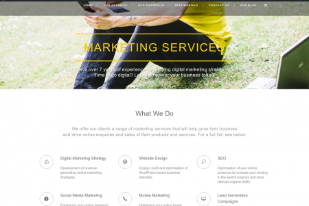 Mr C - Digital Marketing Agency Infographic