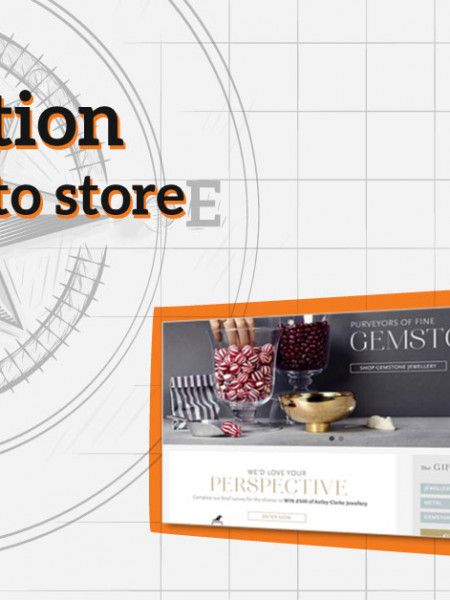 Navigation in Magento store Infographic