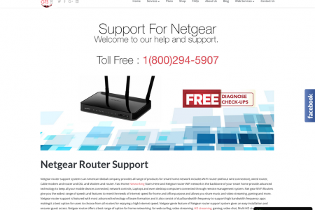 Netgear Router Setup in USA   1-800-294-5907 Infographic