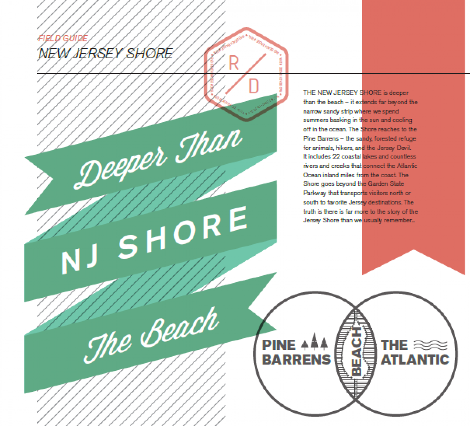 New Jersey Shore: Deeper Than the Beach Infographic