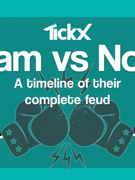 Noel versus Liam, a timeline of their ongoing rivalry Infographic
