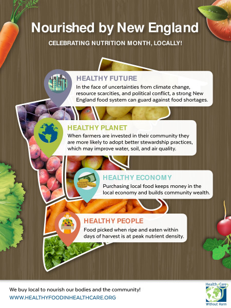 Nourished by New England Infographic Infographic