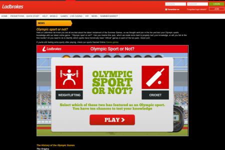 Olympic Sport or Not? Infographic
