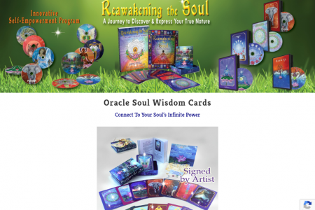 Oracle Soul Wisdom Cards - Connect To Your Soul's Infinite Power Infographic