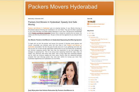Packers And Movers In Hyderabad: Speedy And Safe Moving Infographic