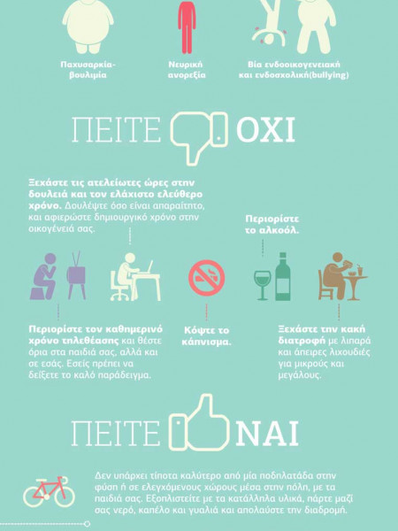 Place exercise in your life Infographic