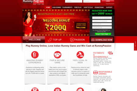 Play Rummy Online, Love Indian Rummy Game and Win Cash at RummyPassion Infographic