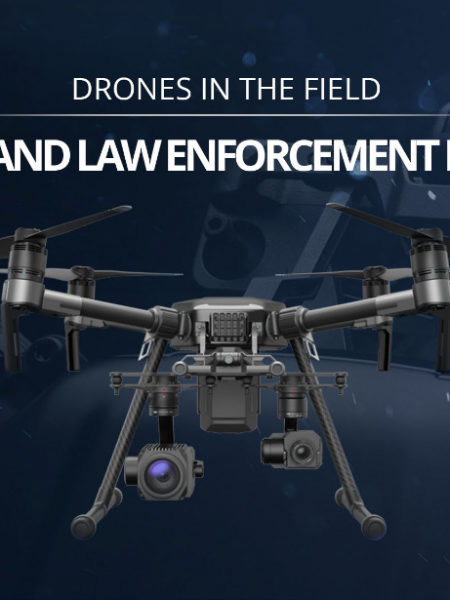 Police and Law Enforcement Drones: Drones In The Field Infographic Infographic