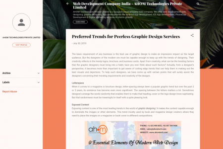 Preferred Trends for Peerless Graphic Design Services Infographic