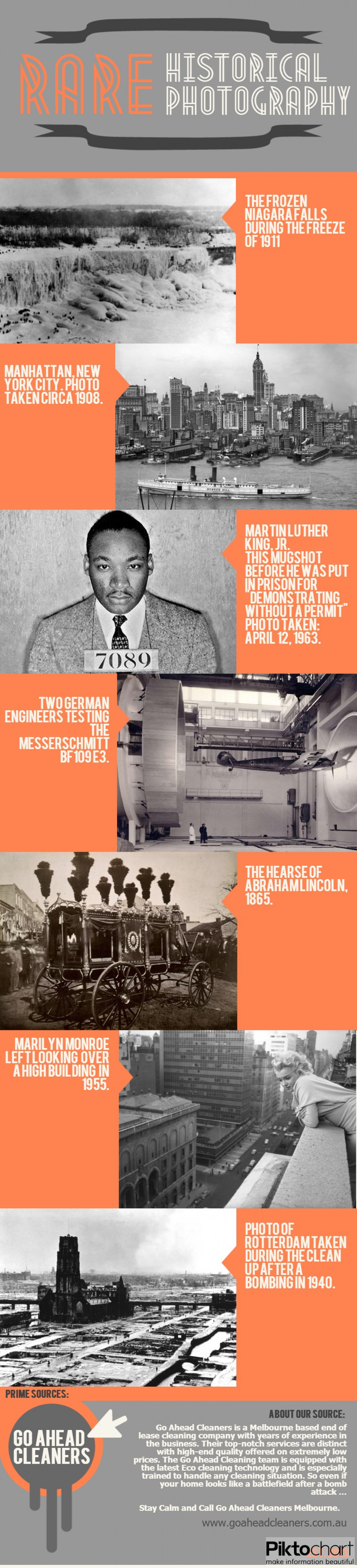 Rare Historical Photography Infographic