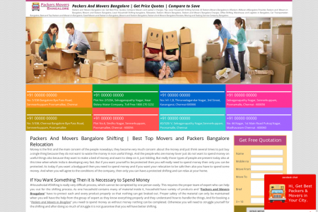 Require A Relocation Respond In Due Order Regarding Your Moving – Packers And Movers Bangalore Is Ideal Infographic