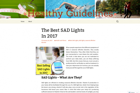 SAD Lights – What Are They? Infographic