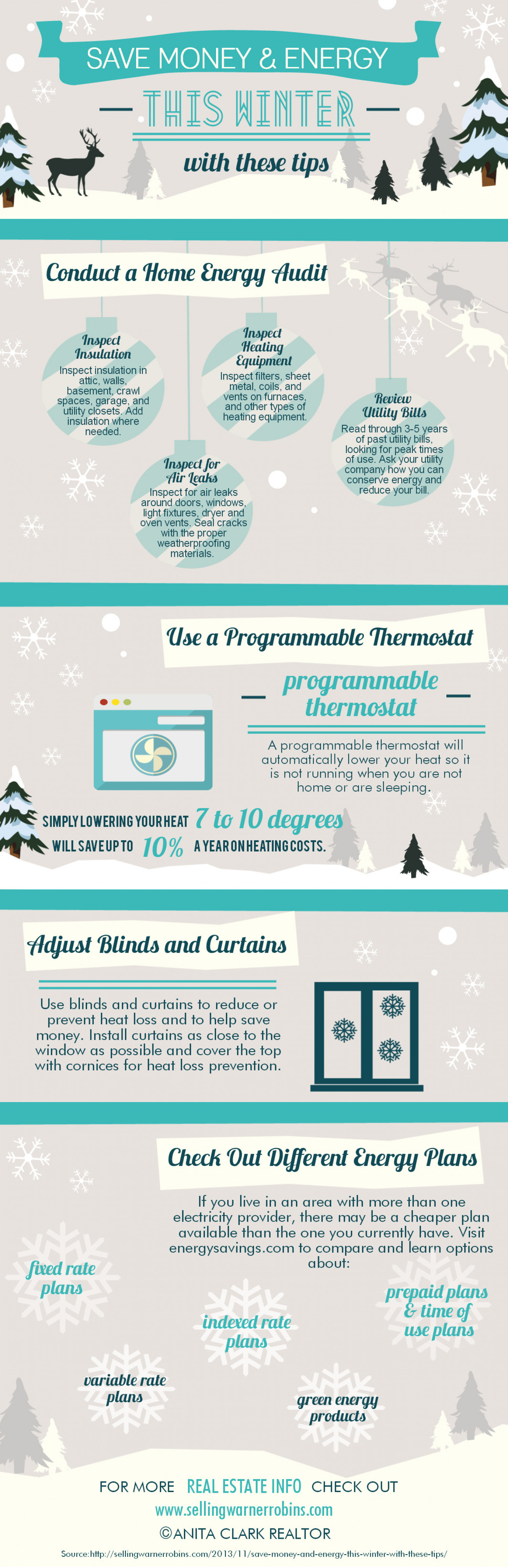 Save Money and Energy This Winter With These Tips Infographic