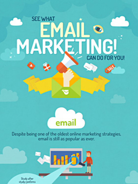 See what email marketing can do for you! Infographic