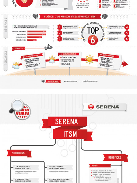 Serena Infography Infographic