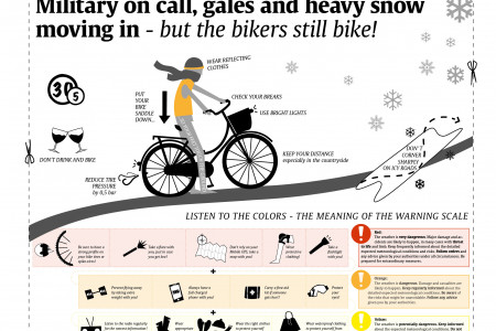 Snowstorm Infographic