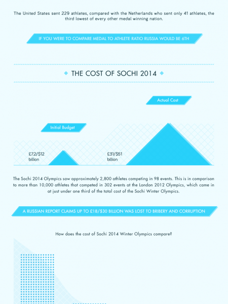 Looking Back At Sochi 2014 Infographic