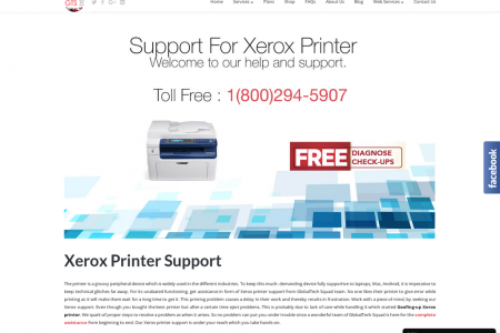 Support For Xerox Printer Toll Free:1-800-294-5907 Infographic