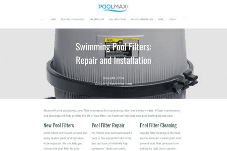 Swimming Pool Repair Service Infographic