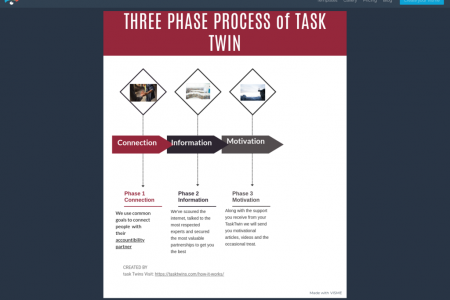 Task Twin Working Phase Infographic