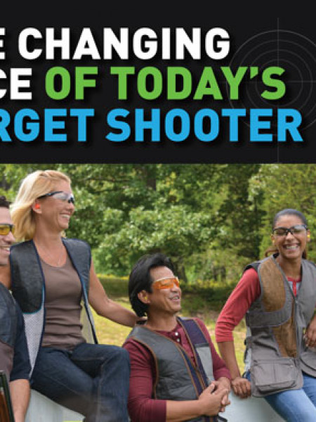 The Changing Face of Today's Target Shooter Infographic