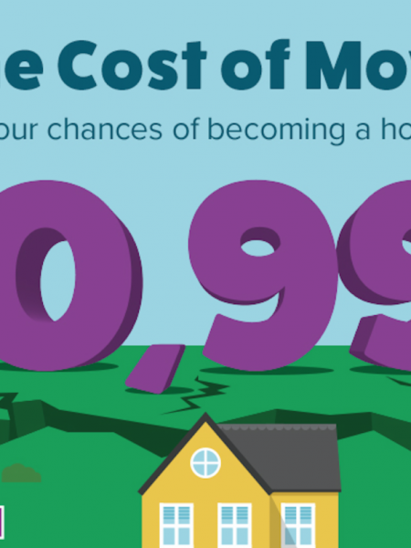 Cost of Moving House Infographic Infographic