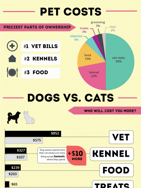 The Cost of Pet Ownership  Infographic